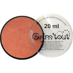 Accessoires de fête, Fard maquillage Cuivre Métallique galet 20 ml, GT41206, 7,90€