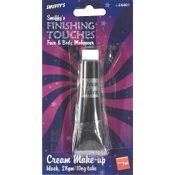 Maquillage crème noir 28 ml à l'eau Accessoires de fête 24401