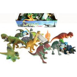 Animal dino pvc 12 assortiments vendu par 36 Jouets et kermesse 10457-LOT