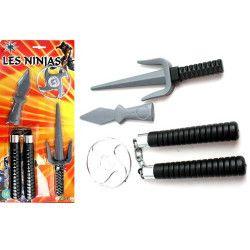 Nunchaku Ninja avec accessoires Jouets et kermesse 30318