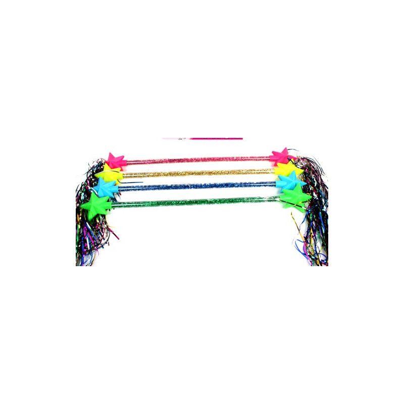 Bâton de majorette 58 cm avec étoiles /24/ Jouets et articles kermesse 32077-LOT