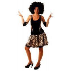Tutu léopard adulte année 80 Accessoires de fête 86502130