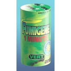 Tube fumigene 1 minute vert Artifices 33034