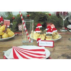 Sachet 10 marque places Noël Déco festive 812906