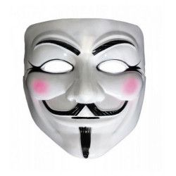 Accessoires de fête, Masque Anonymous V, 865007, 1,50€