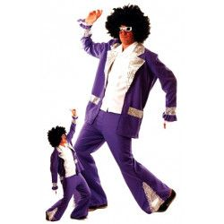 Déguisement disco forever violet taille M-L Déguisements 865091816