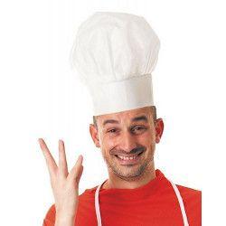 Toque de chef cuisinier Accessoires de fête 86515