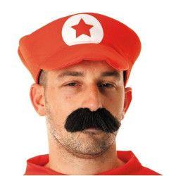 Casquette plombier rouge Accessoires de fête 86553