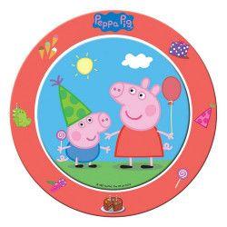 Déco festive, Assiettes carton Peppa Pig™ 23 cm, 24500, 3,90€