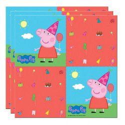 Serviettes en papier Peppa Pig™ x 20 Déco festive 24502