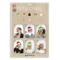 Set 10 accessoires photobooth Noël Déco festive 812905
