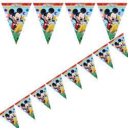 Guirlande fanions Playful Mickey™ Déco festive LMIC81515