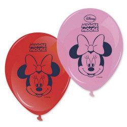 Ballon imprimés Minnie™ x 8 Déco festive LMIN84934