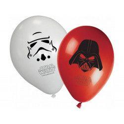 Déco festive, Ballons imprimés Star Wars™ x 8, LSTA84165, 3,49€