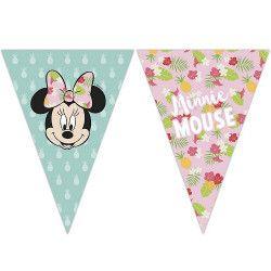Guirlande fanions Minnie™ Déco festive LMIN89234