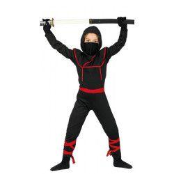 Déguisement ninja noir garçon 10-12 ans Déguisements 81888
