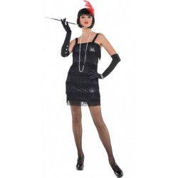 Déguisement charleston noir femme taille S Déguisements 997671