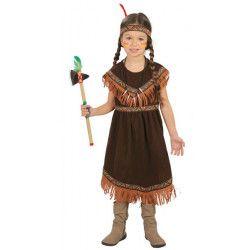 Déguisement indienne à franges fille 7-9 ans Déguisements 82721