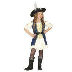 Déguisement pirate fille 5-6 ans Déguisements 83341