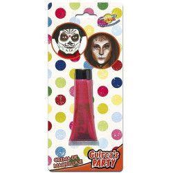 Maquillage crème rouge Accessoires de fête 15446GUIRCA