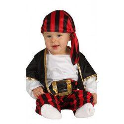 Déguisements, Déguisement pirate bébé 6-12 mois, 85560, 12,90€
