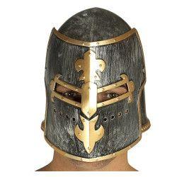 Casque cavalier médiéval adulte Accessoires de fête 13112
