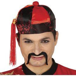 Coiffe chinois mandarin adulte Accessoires de fête 13168