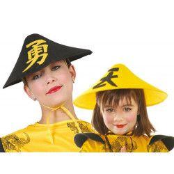 Chapeau chinois en feutre Accessoires de fête 13529