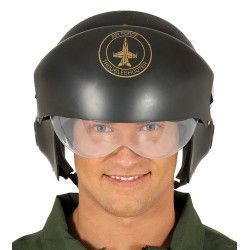 Casque pilote de chasse adulte Accessoires de fête 13597