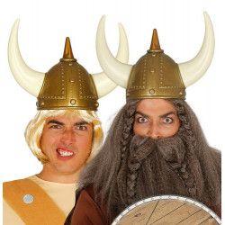 Casque viking adulte Accessoires de fête 16656