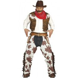 Déguisements, Déguisement cowboy homme taille L, 80824, 22,90€