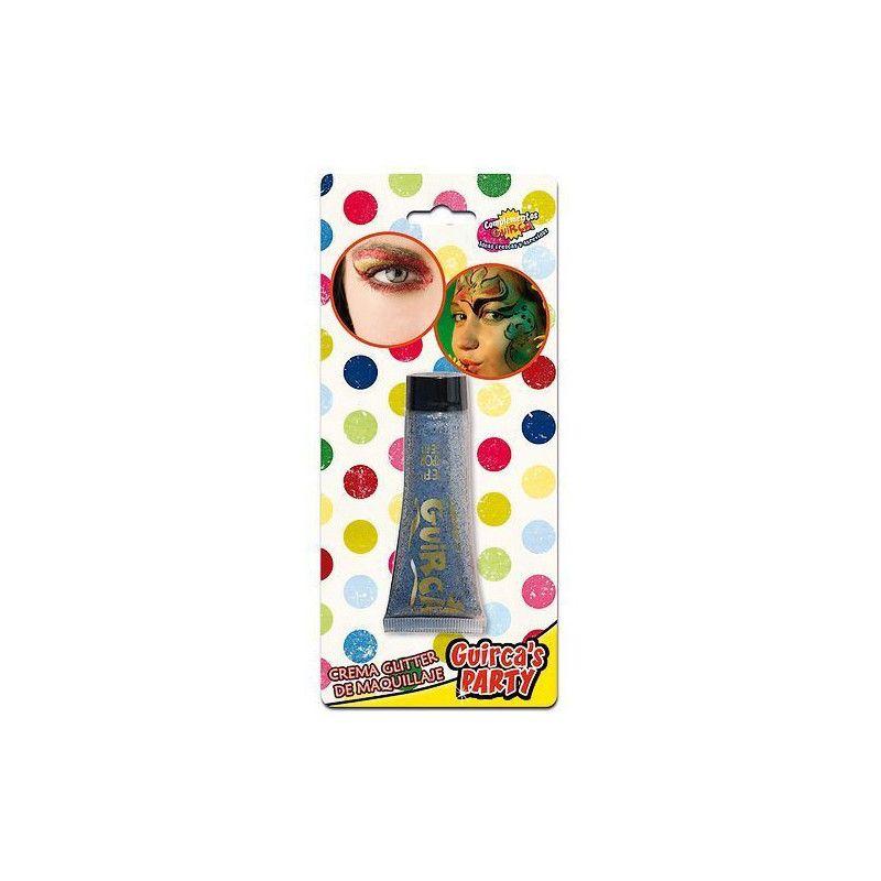Maquillage crème pailletée argent Accessoires de fête 15454