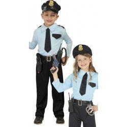 Déguisements, Déguisement policier garçon 10-12 ans, 82732GUIRCA, 17,90€