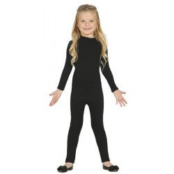 Déguisements, Déguisement justaucorps noir fille 5-8 ans, 82802, 18,50€