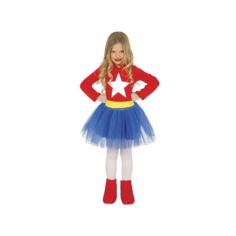 Déguisement super héroïne fille 10-12 ans Déguisements 83215