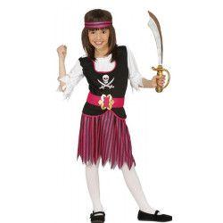 Déguisement pirate fille 5-6 ans Déguisements 83379