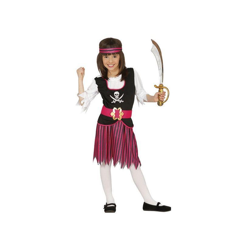 Déguisement pirate fille 7-9 ans Déguisements 83380