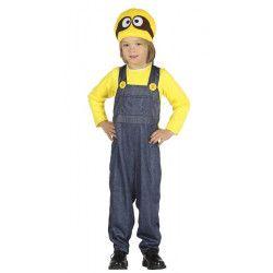 Déguisements, Déguisement Minion enfant 3-4 ans, 87626, 22,90€