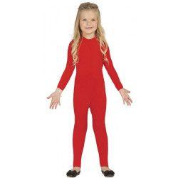 Déguisement justaucorps rouge fille 5-6 ans Déguisements 85665