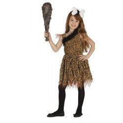 Déguisement fille des cavernes enfant 7-9 ans Déguisements 87543