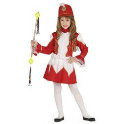 Déguisement majorette rouge et blanc fille 3-4 ans Déguisements 87553