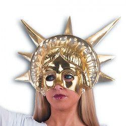 Accessoires de fête, Masque or Statue de la Liberté, 155-, 5,90€