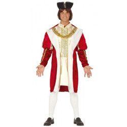 Déguisement roi bordeaux homme taille L Déguisements 88587