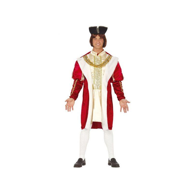 Déguisements, Déguisement roi bordeaux homme taille L, 88587, 36,90€
