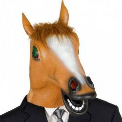 Masque tête de cheval Accessoires de fête 2677