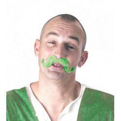 Moustache verte St Patrick Accessoires de fête 8651081