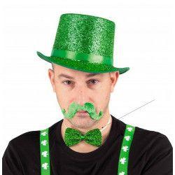 Noeud papillon vert St Patrick Accessoires de fête 8651009