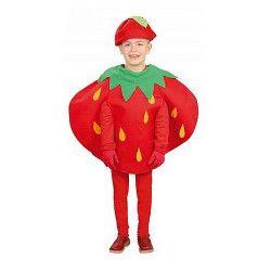 Déguisements, Déguisement de fraise enfant 3-4 ans, 82690, 14,90€
