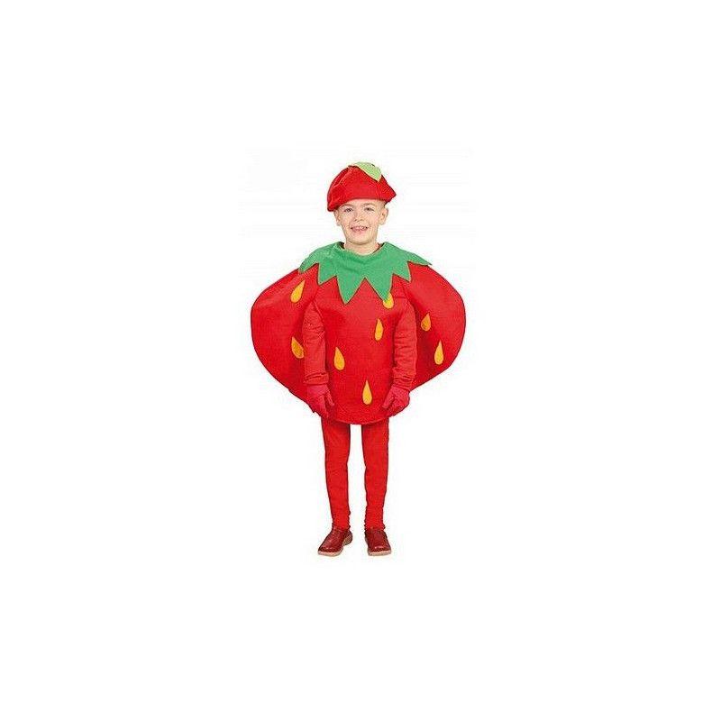 Déguisement de fraise enfant 3-4 ans Déguisements 82690