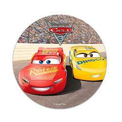 Disque en sucre Cars™ 16 cm Déco festive 231010